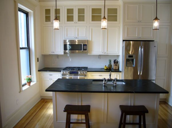 small kitchen islands with seating photo - 1