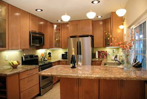 small kitchen layout ideas photo - 1
