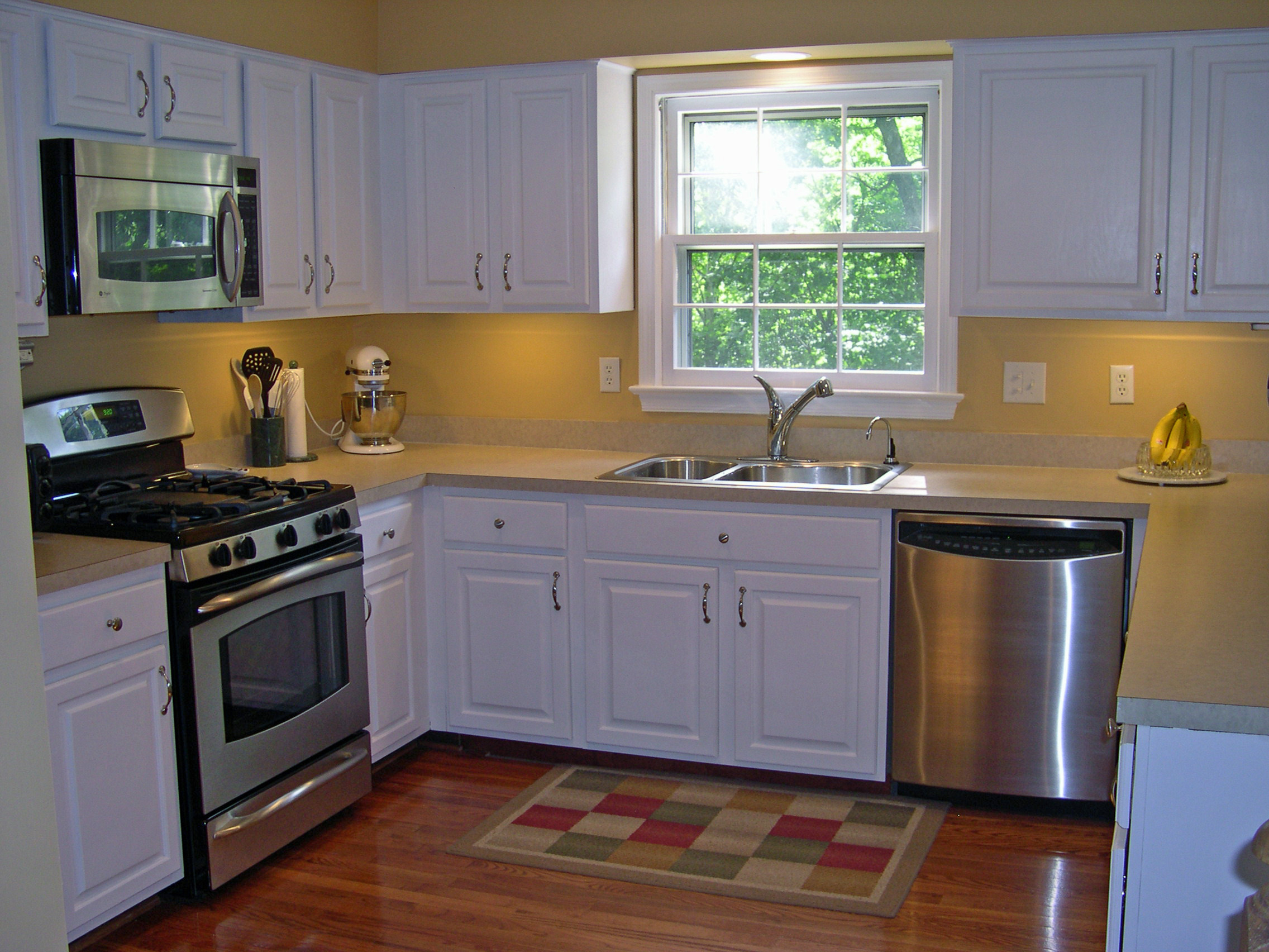small kitchen makeovers on a budget photo - 2