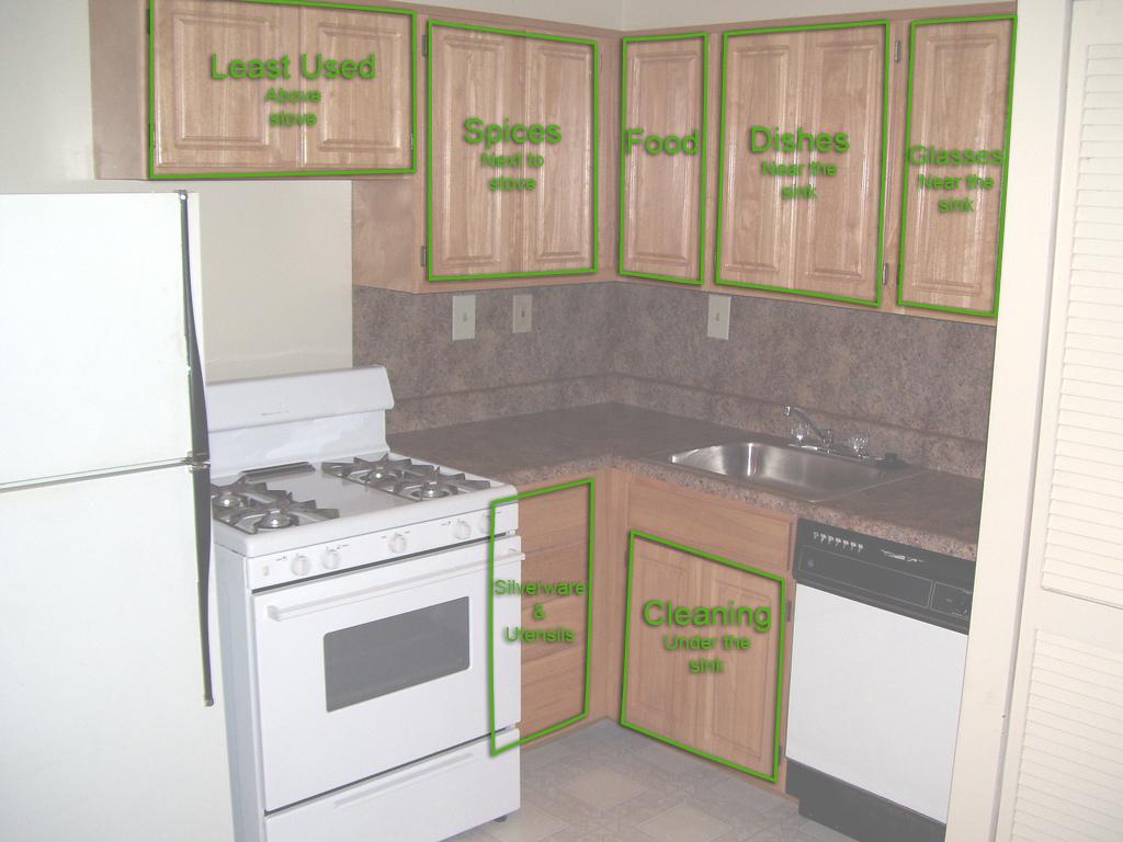 small kitchen organization photo - 1