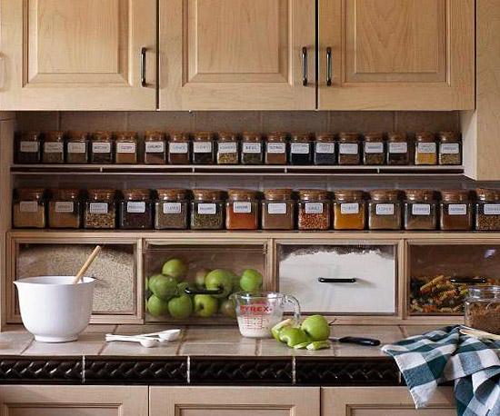 small kitchen organization photo - 2