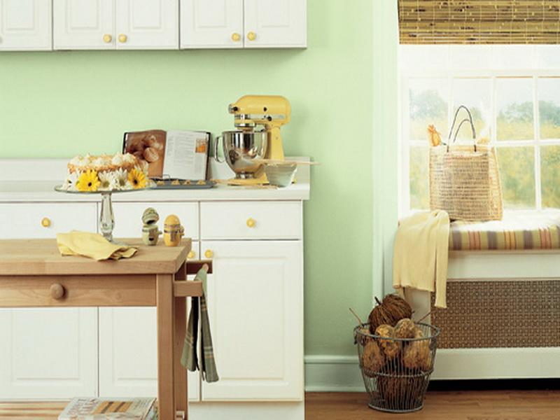 small kitchen paint ideas photo - 1