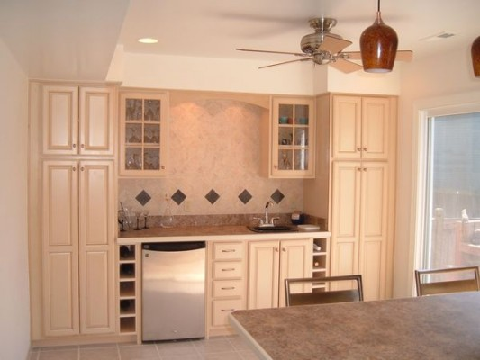 small kitchen pantry cabinet photo - 2