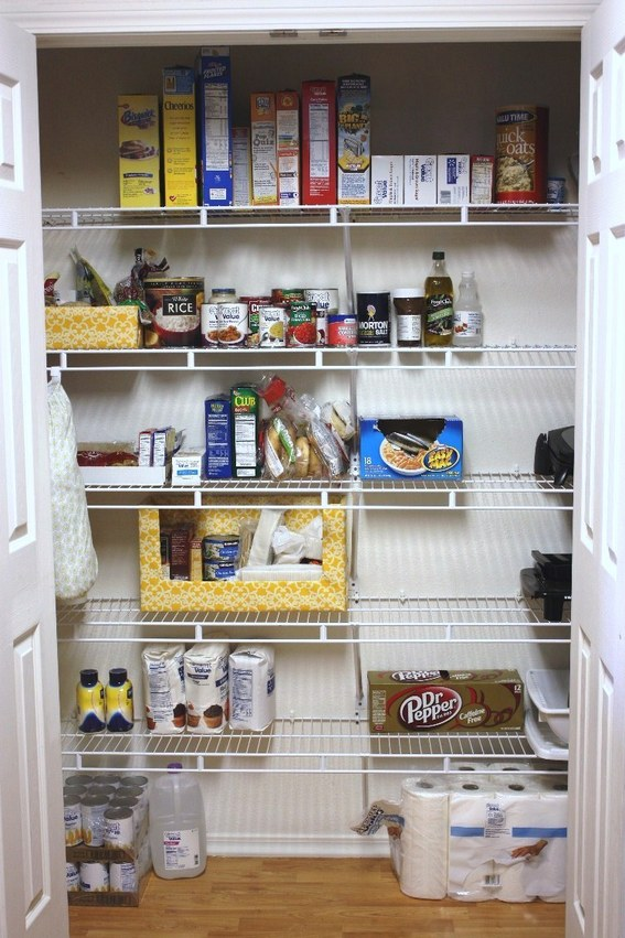 Small kitchen pantry organization ideas large and for Pantry ideas for a small kitchen