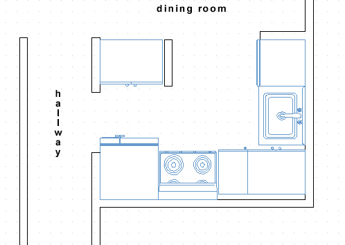 small kitchen plans photo - 2