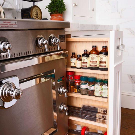 small kitchen storage photo - 2