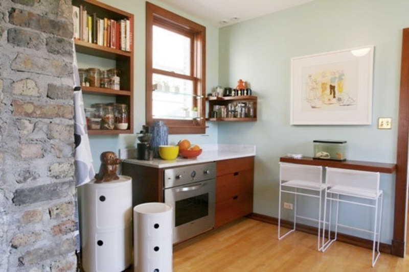 Small Kitchen With Breakfast Bar Photo 2