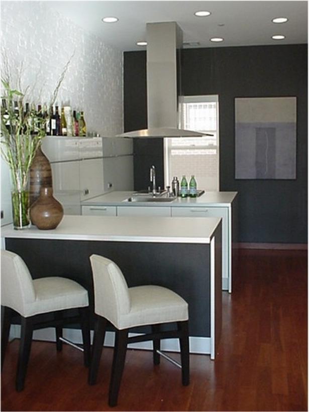 small kitchenette design photo - 1