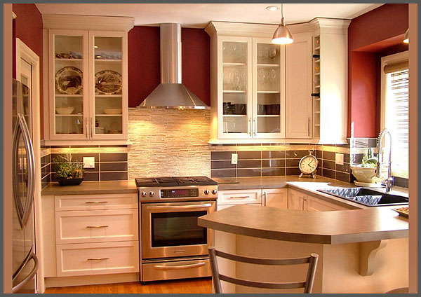 small kitchens with island photo - 1