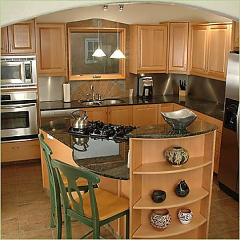 small kitchens with islands designs photo - 2