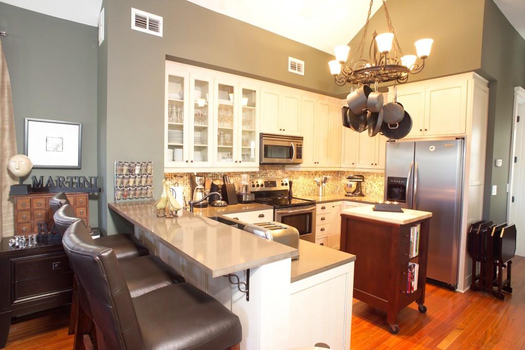 small modern kitchen ideas photo - 2