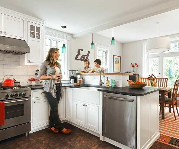 small open kitchen photo - 1