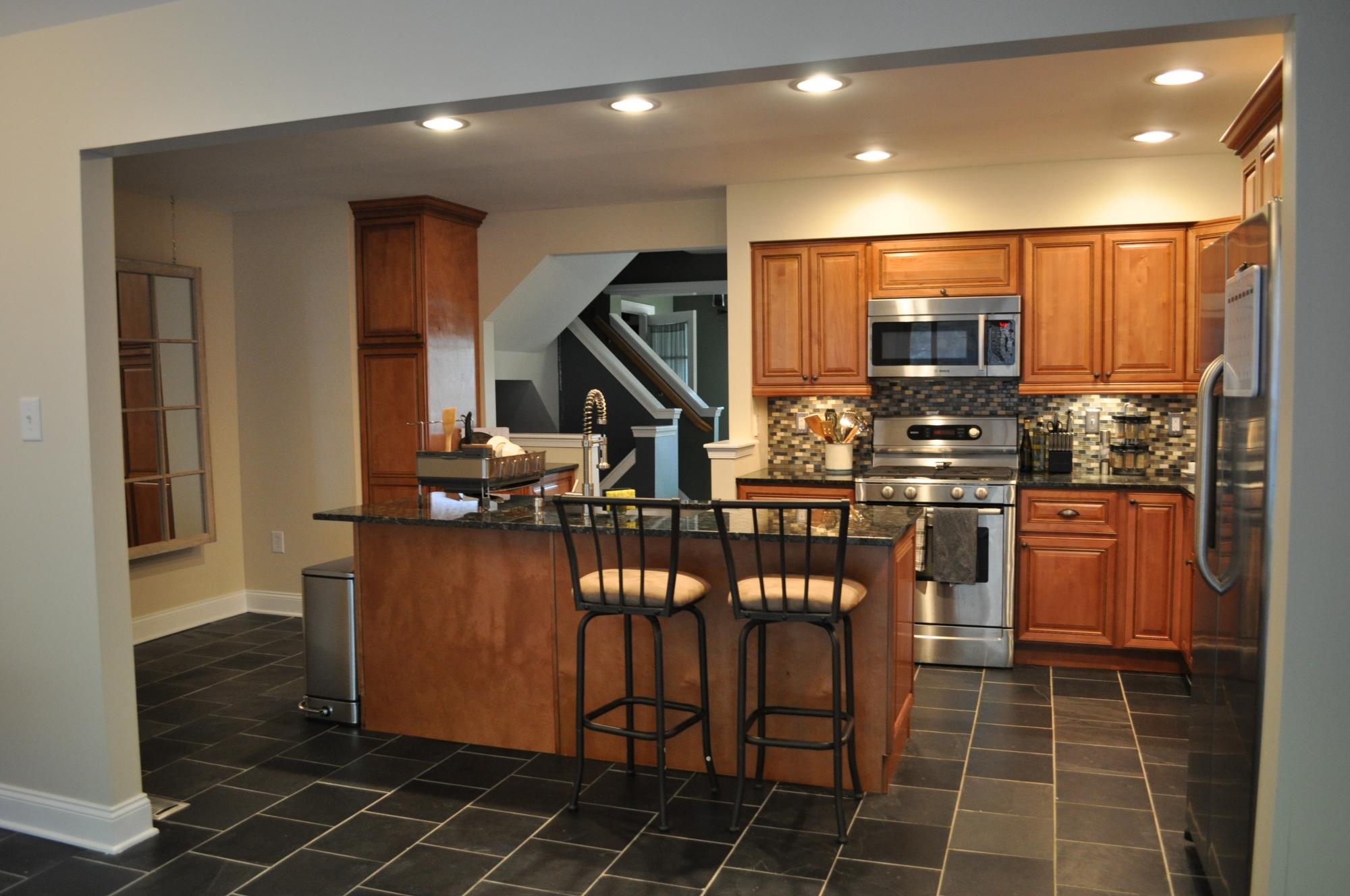 Small Open Kitchen Floor Plans