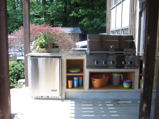small outdoor kitchen designs photo - 1