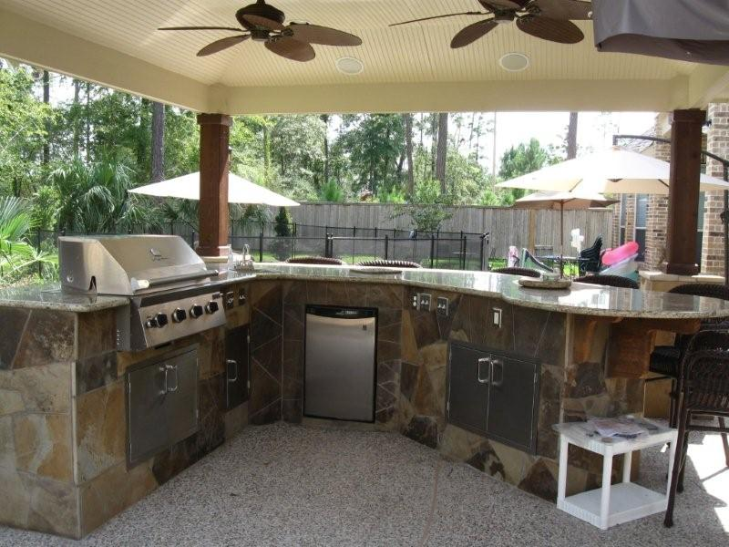 small outdoor kitchen designs photo - 2