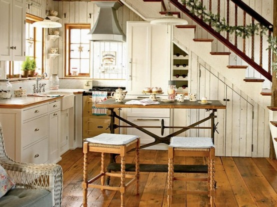 small rustic kitchen ideas photo - 1