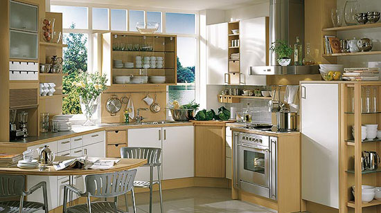 Small space kitchen ideas large and beautiful photos for Kitchen designs for small spaces