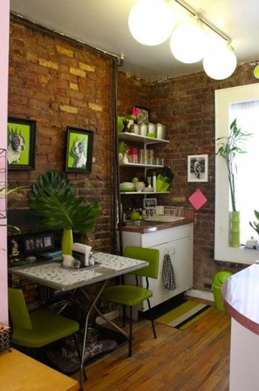 small spaces kitchen photo - 1