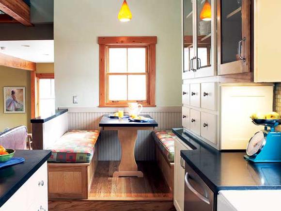 small spaces kitchen photo - 2