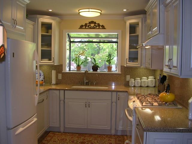 small u shape kitchen photo - 1