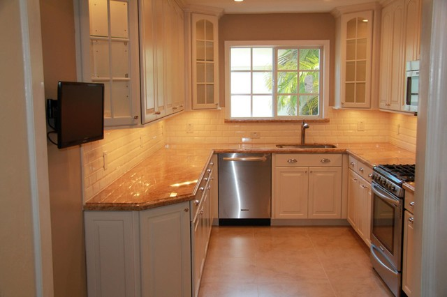 Small u shaped kitchen remodel ideas - large and beautiful photos ...