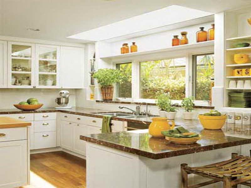 small white kitchen photo - 2