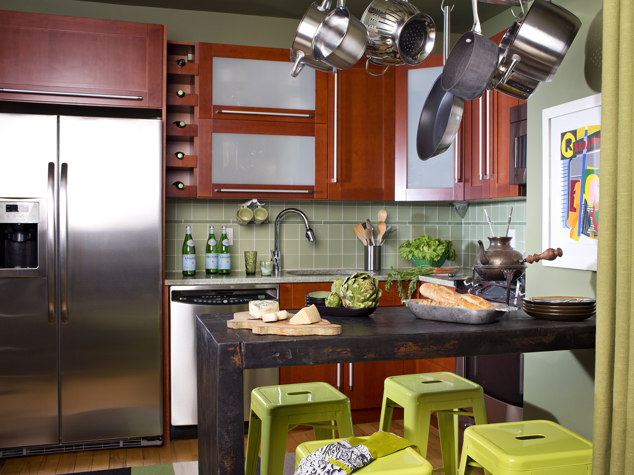 solutions for small kitchens photo - 2