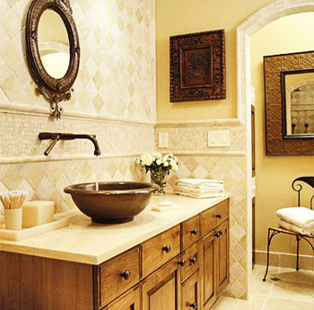 spa bathroom decorating ideas photo - 1