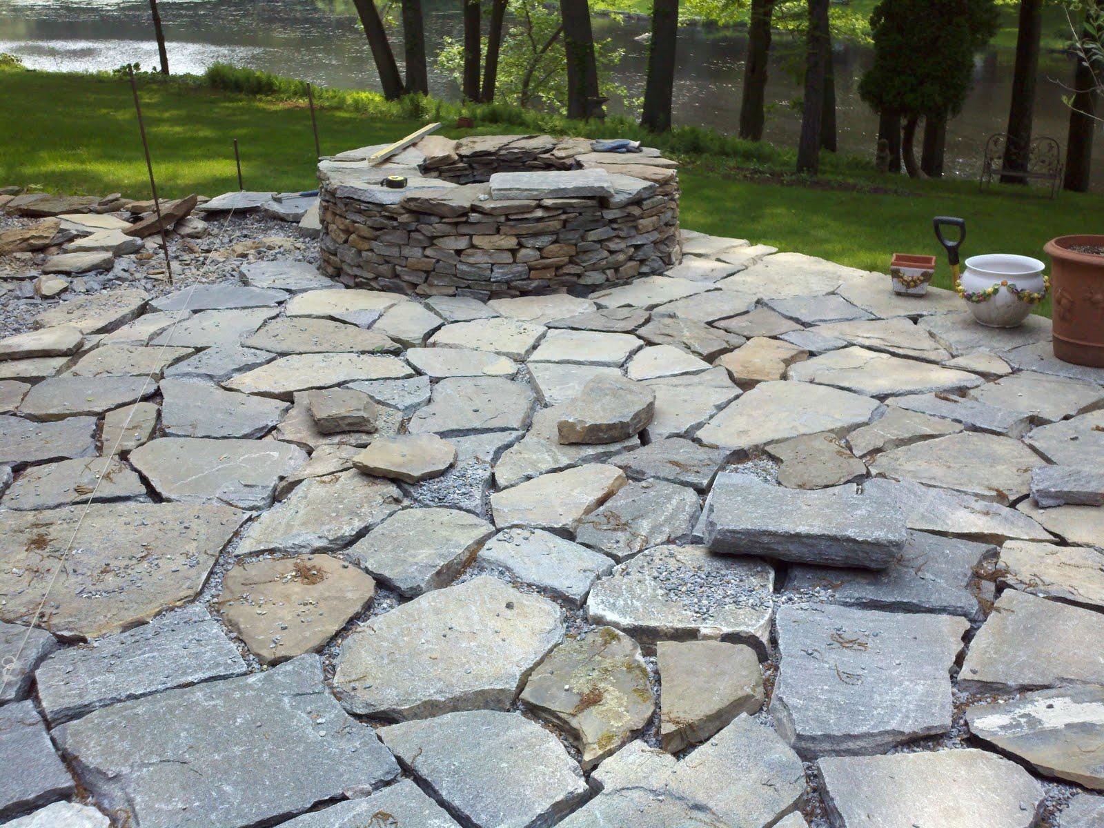 stone backyard photo - 2