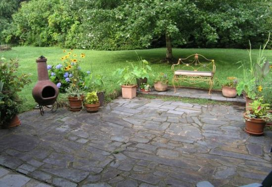 Stone Backyard Patio Large And Beautiful Photos Photo To Select