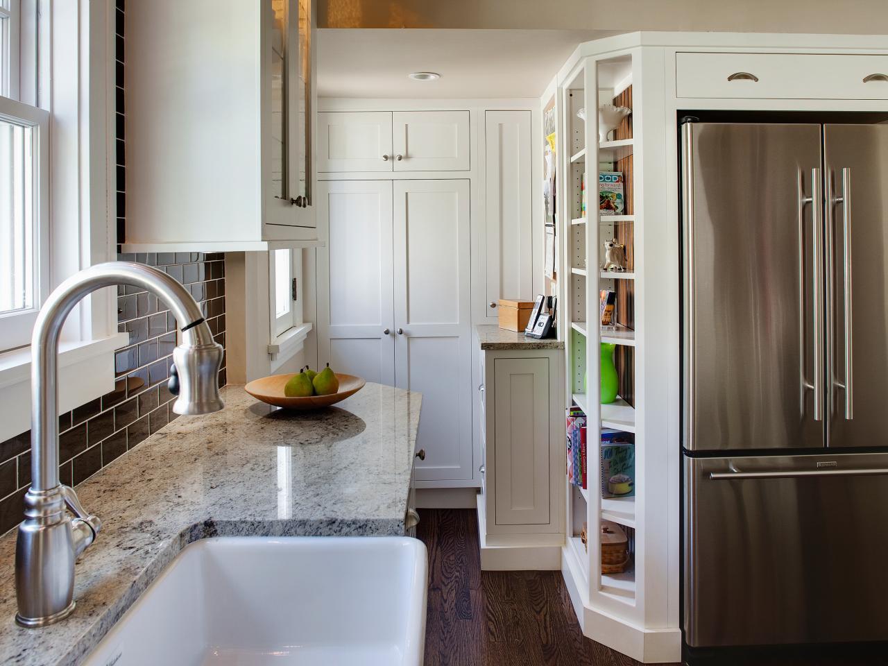 storage for small kitchens photo - 2