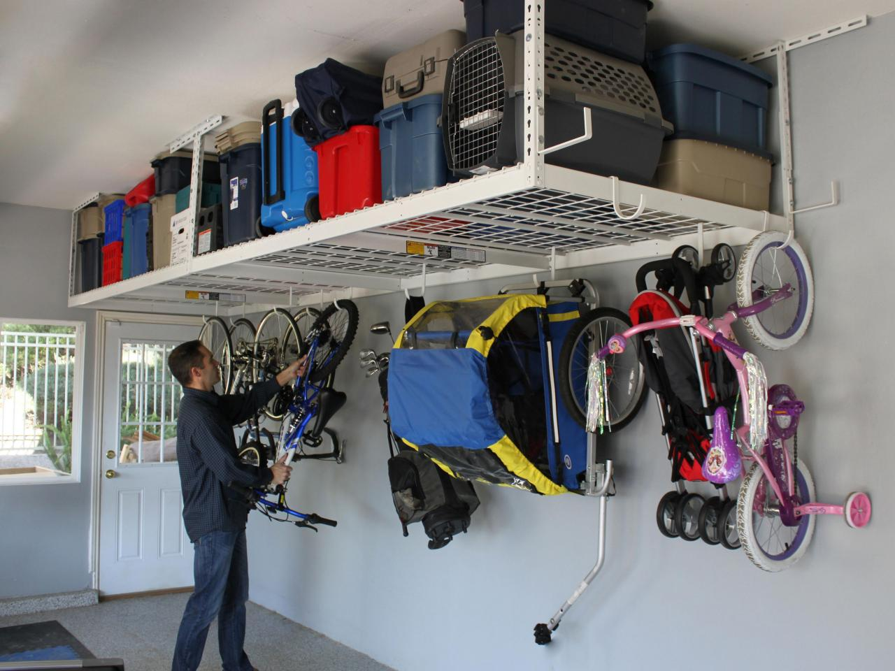 storage hangers garage photo - 1