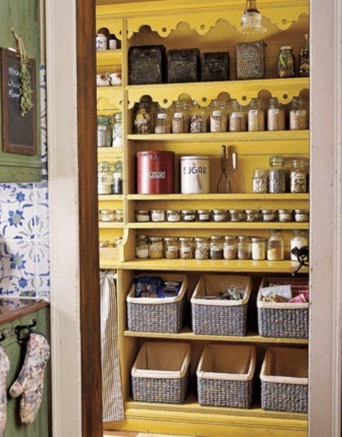 storage ideas for a small kitchen photo - 1