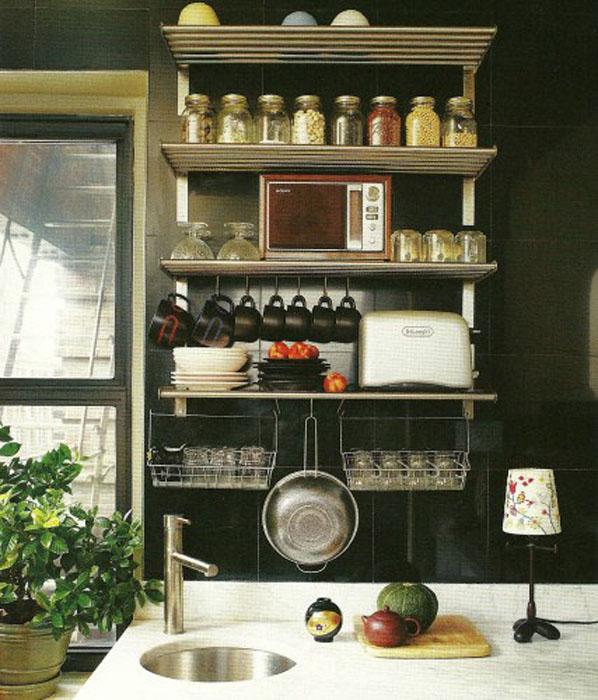 Small Kitchen Shelf Ideas Part - 47: Storage Ideas For Small Kitchen