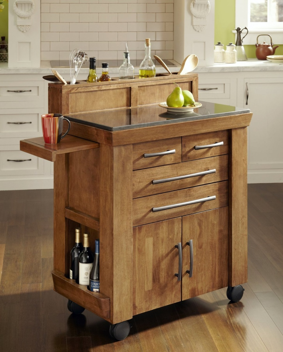 storage in a small kitchen photo - 1