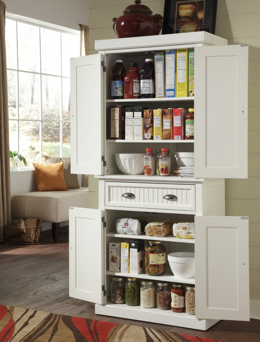 storage in a small kitchen photo - 2