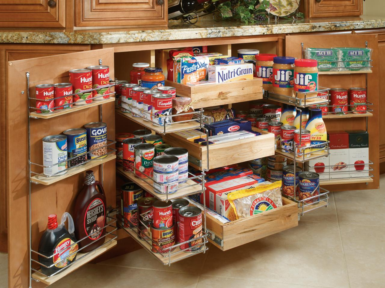 storage solutions for small kitchen photo - 1