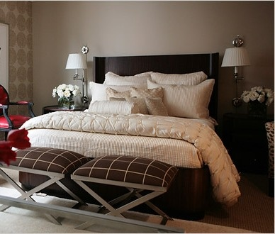 taupe bedroom walls photo - 1