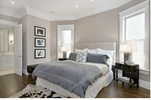 taupe bedroom walls photo - 2