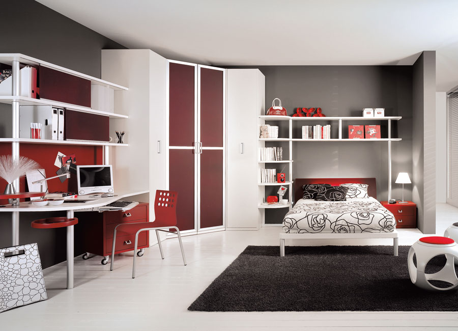 teen bedroom design photo - 1