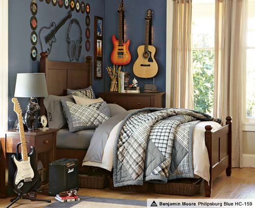 teen boy bedroom decor photo - 2
