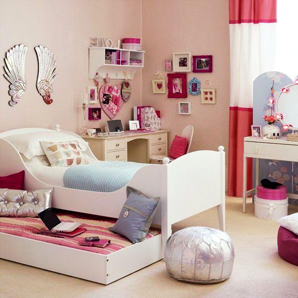 teen girl bedroom decor photo - 1