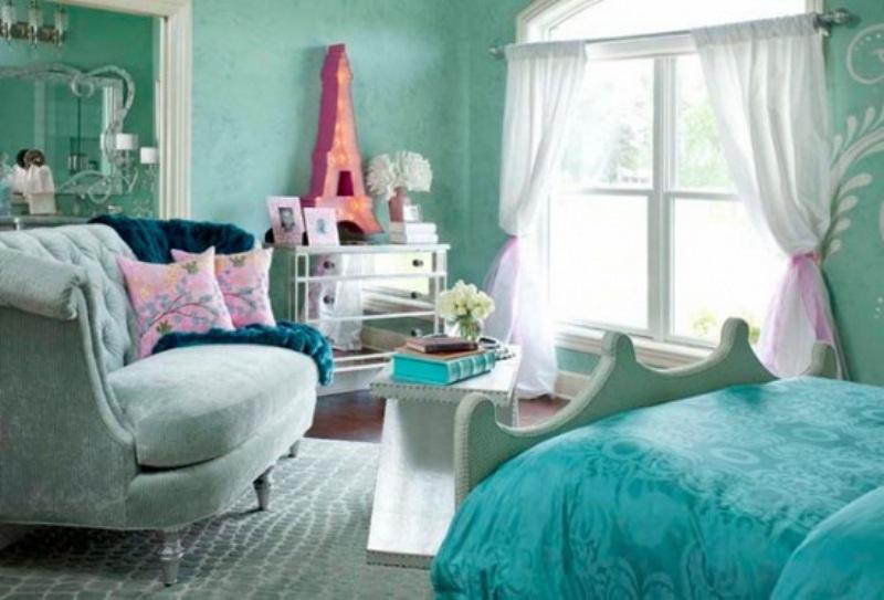 teen girl bedroom design photo - 1
