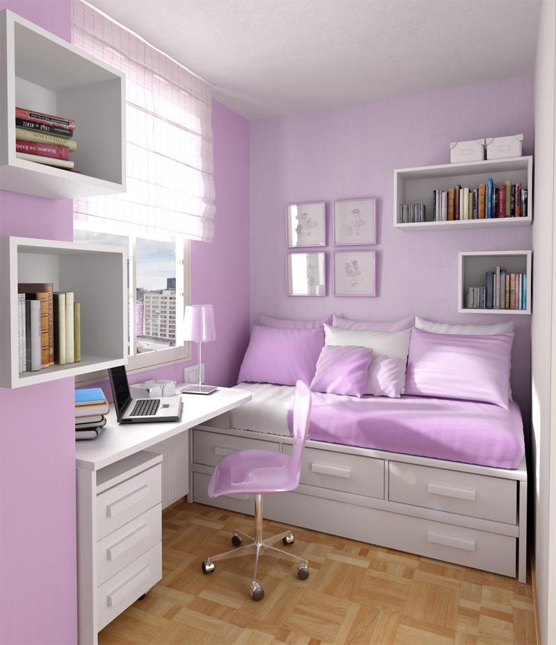 teen small bedroom ideas photo - 2