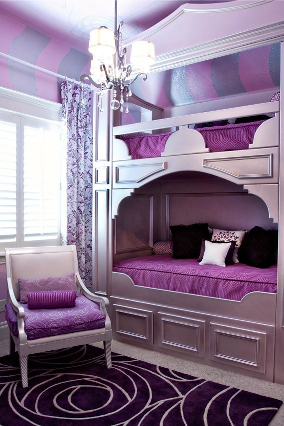 teenage bedroom ideas with bunk beds photo - 1