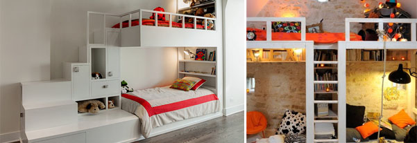 teenage bedroom ideas with bunk beds photo - 2