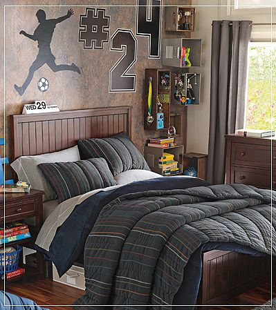 teenage guys bedroom ideas photo 2 - Guys Bedroom Decor