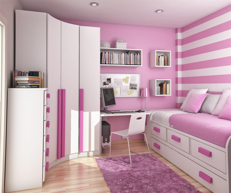 teenage small bedroom ideas photo - 1