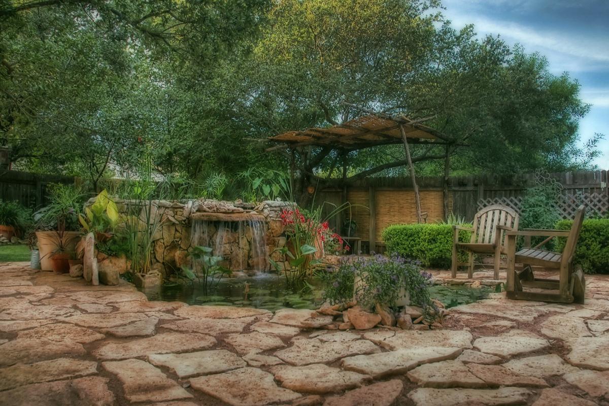 texas backyard photo - 1