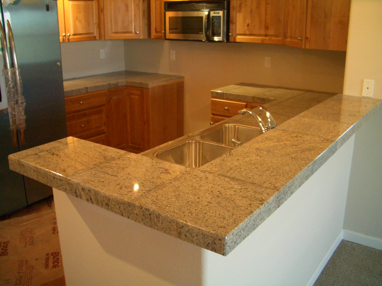 Tile bathroom countertop large and beautiful photos Photo to